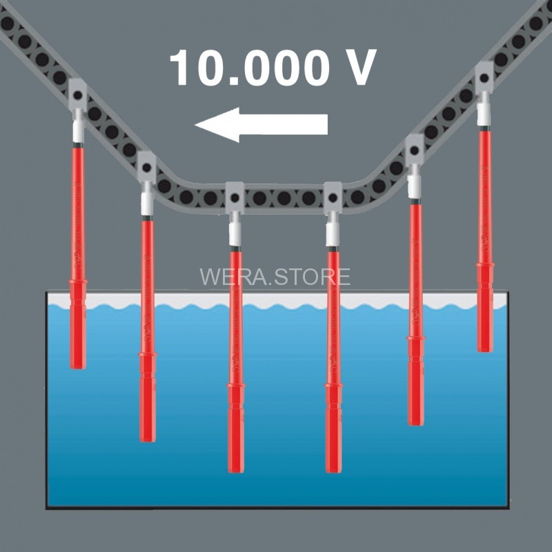 Wera Kraftform Kompakt VDE 60 iS 1.0 x 5.5 x 154 mm